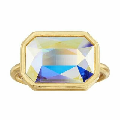 Luca + Danni Aurora Borealis Dylan Cocktail Ring (Gold)