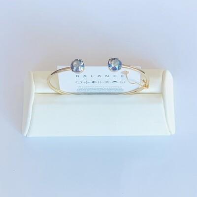 Balance Bracelet Gold/Light Sapphire Shimmer