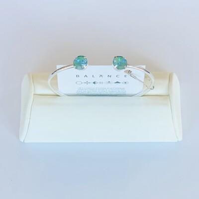 Balance Bracelet Silver/Silky Sage