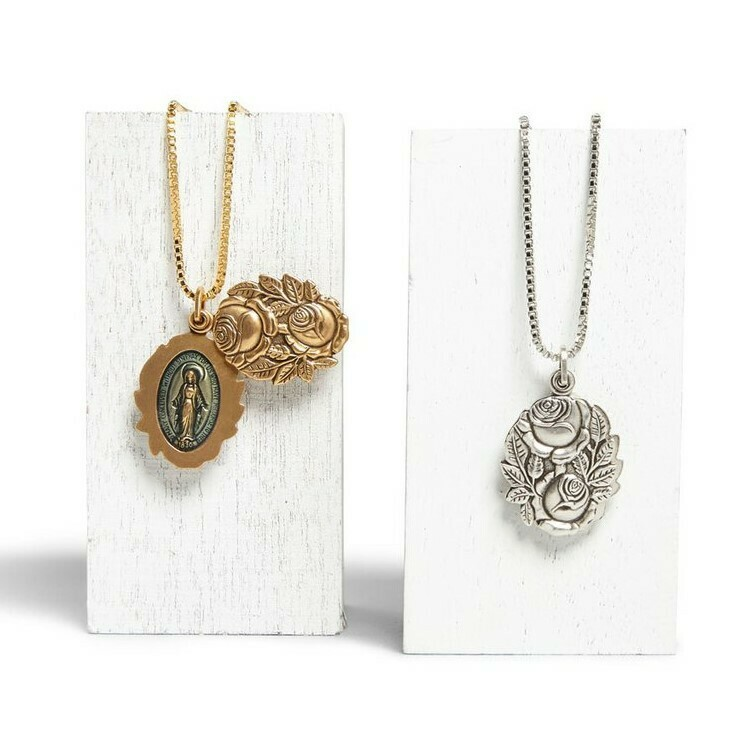 Luca + Danni Miraculous Locket Necklace