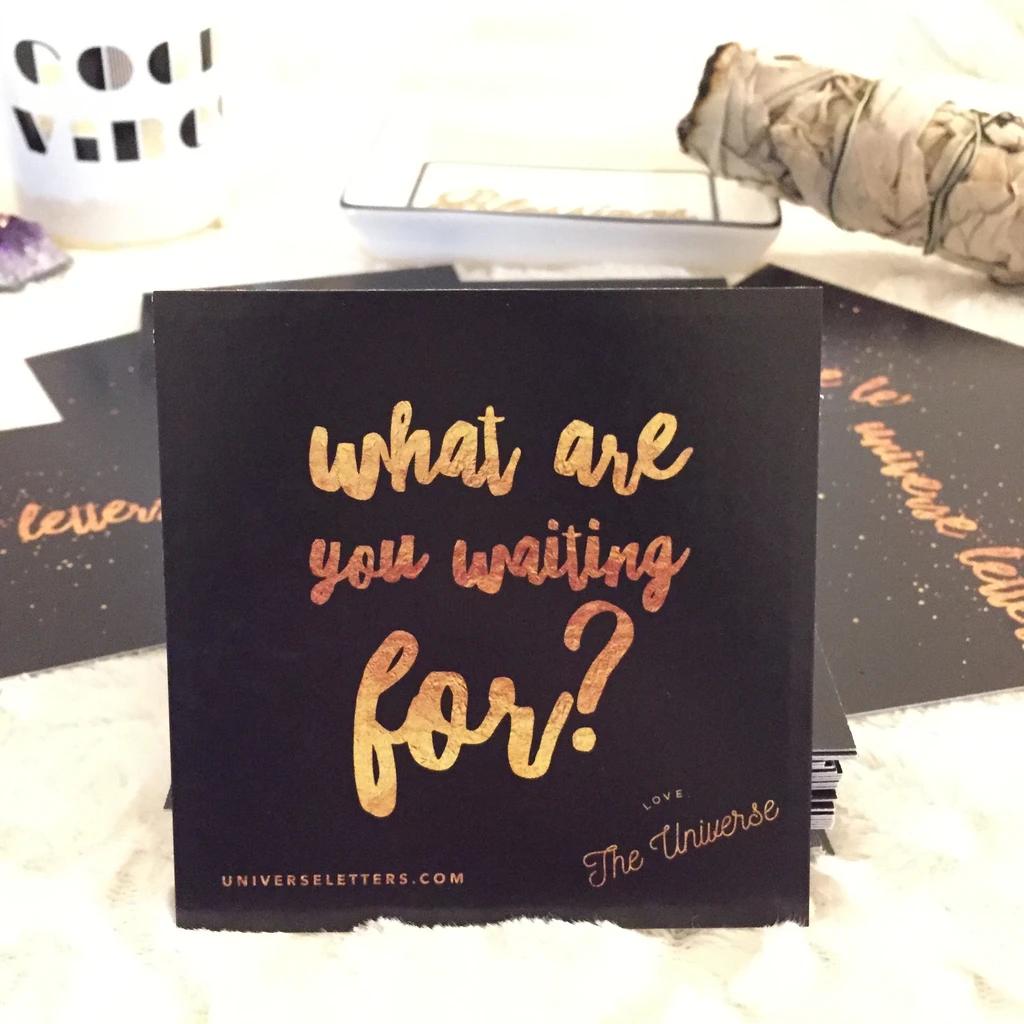 Universe Letters Inspiration Deck