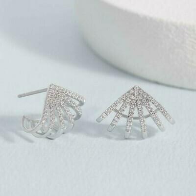 Ella Stein Branch Out Earrings (Silver)