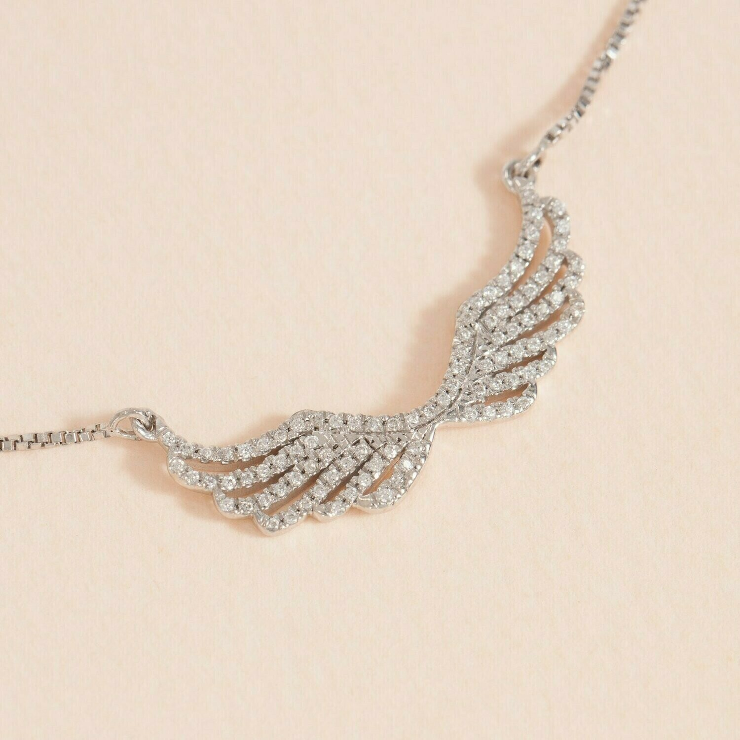Ella Stein Wing It Necklace (Silver)