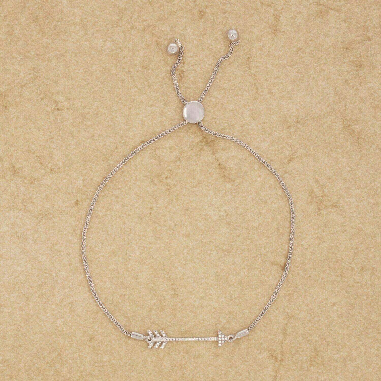 Ella Stein Follow Your Heart Bracelet (Silver)
