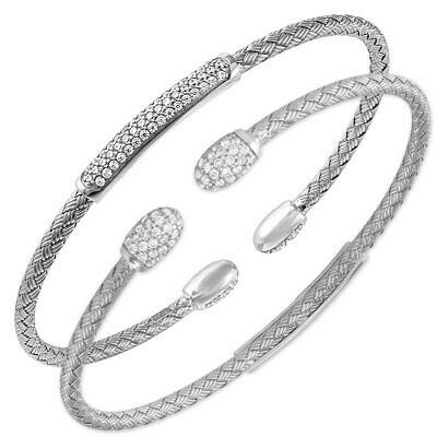 Charles Garnier Sandy Reversible Cuff, Silver