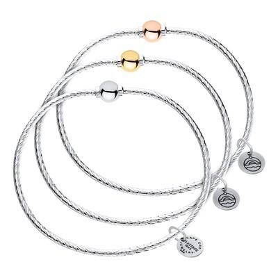 Cape Cod Patterned Single Ball Bracelet