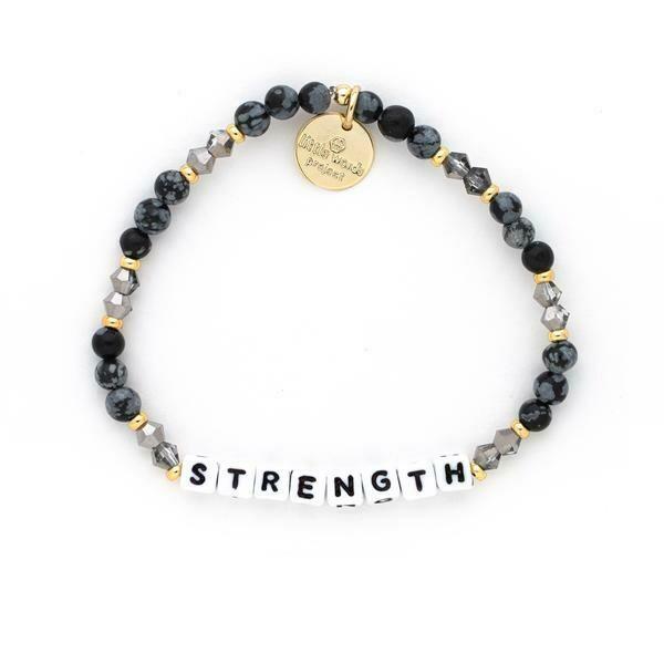 Little Words Project White STRENGTH Bracelet