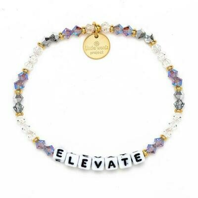 Little Words Project White ELEVATE Bracelet