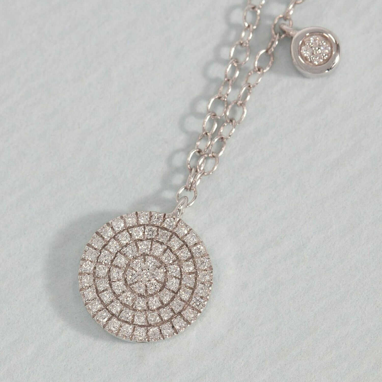 Ella Stein Three Plus Me Necklace (Silver)