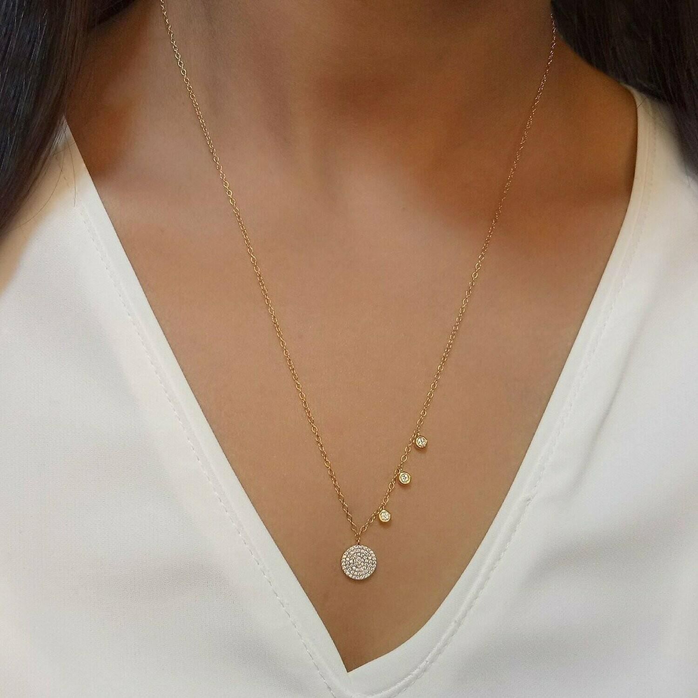 Ella Stein Three Plus Me Necklace (Gold)