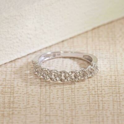Ella Stein Close Knit Ring (Silver)