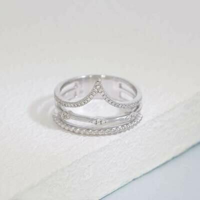 Ella Stein Planetary Rhythm Ring (Silver)