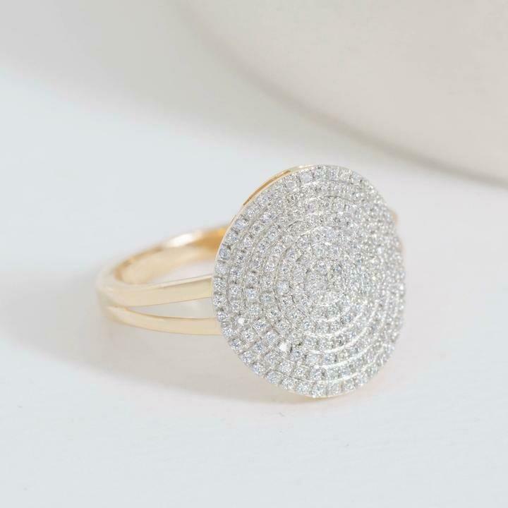 Ella Stein Right Round Ring (Gold)