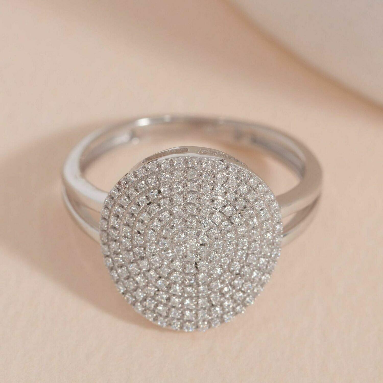 Ella Stein Right Round Ring (Silver)
