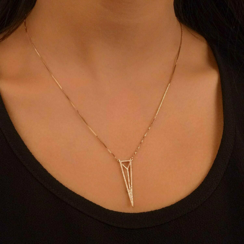 Ella Stein Trifecta Necklace (Gold)