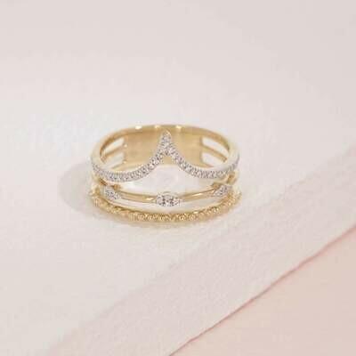 Ella Stein Planetary Rhythm Ring (Gold)