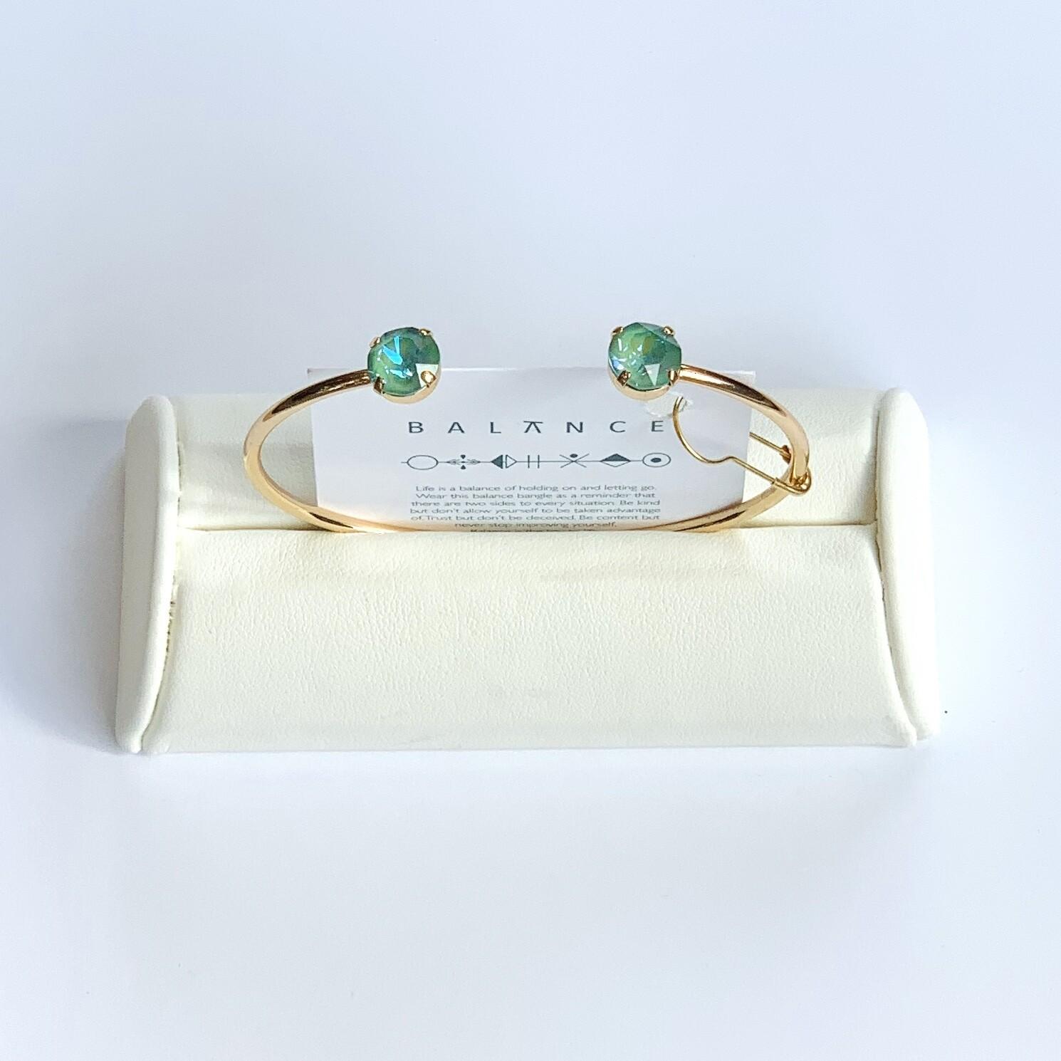 Balance Bracelet Gold/Silky Sage