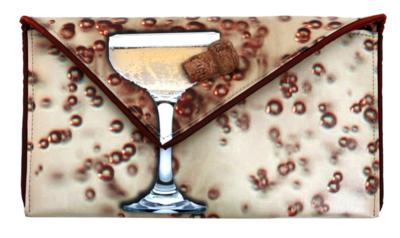 Kent Stetson Champagne Clutch