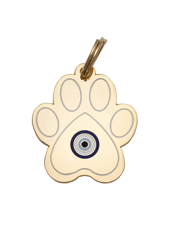 Pet ID Tag - Paw Evil Eye