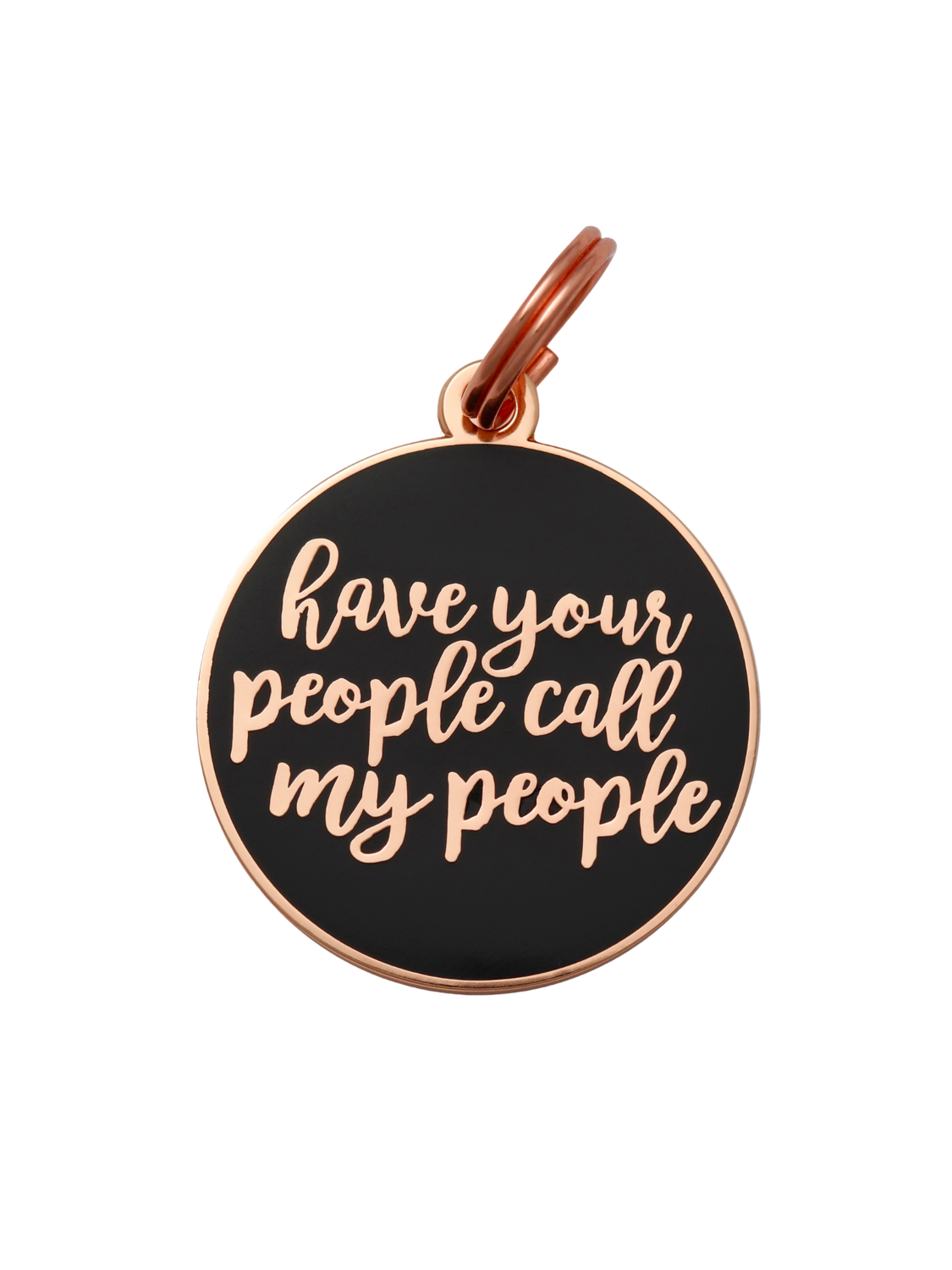 Pet ID Tag - Have Your People, Navy