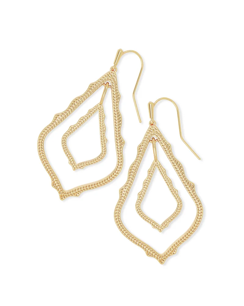 Kendra Scott Simon Drop Earrings In Gold
