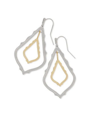 Kendra Scott Simon Drop Earrings In Mixed Metal