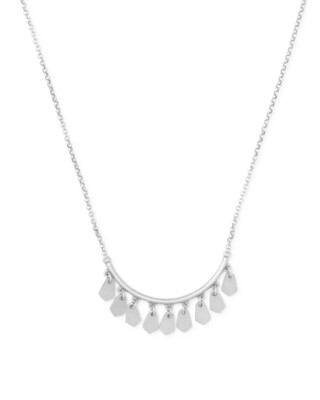 Kendra Scott Sydney Pendant Necklace In Silver