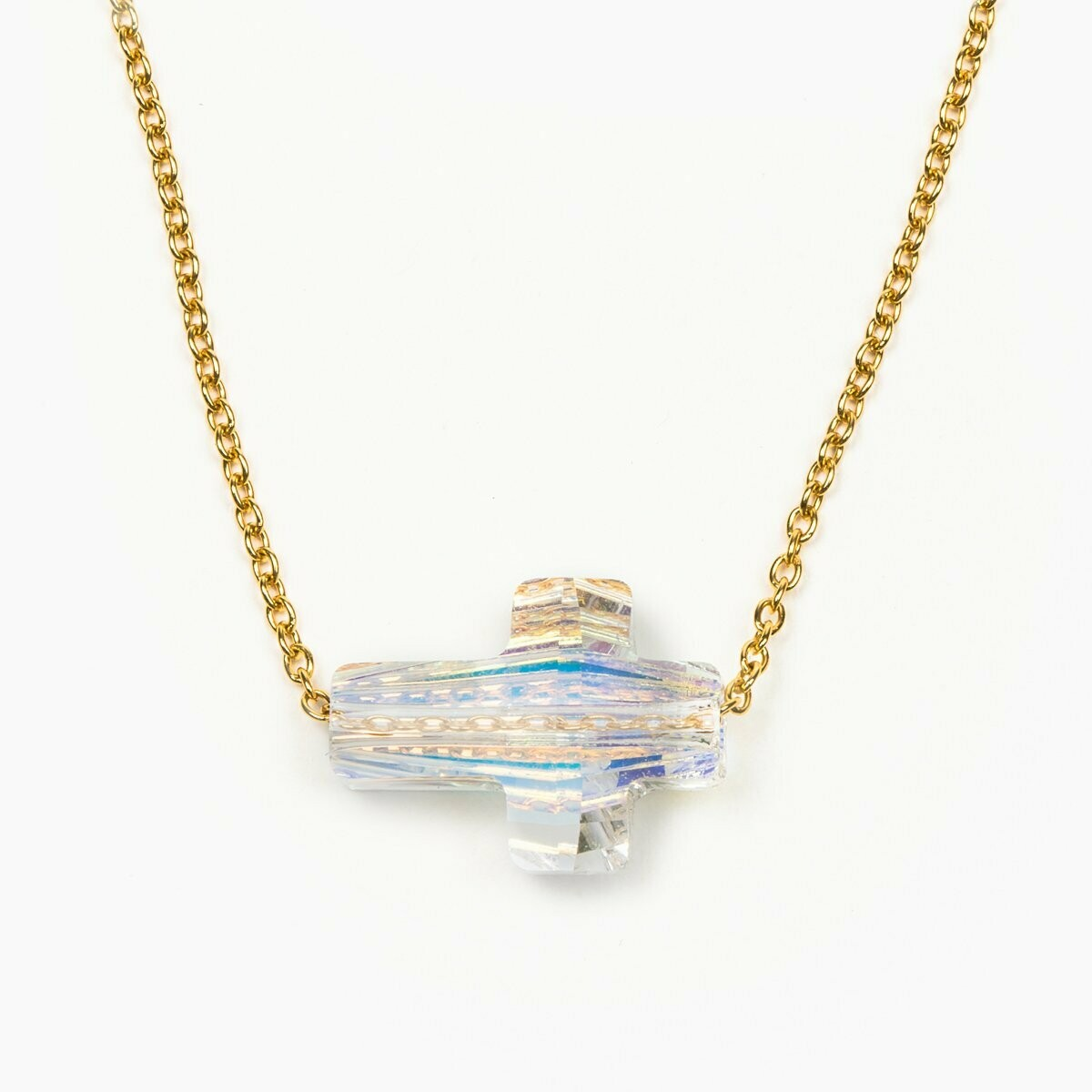 MSMH Heavenly Sky Necklace-Aurora Borealis