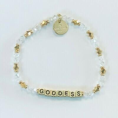 Little Words Project Gold GODDESS Bracelet