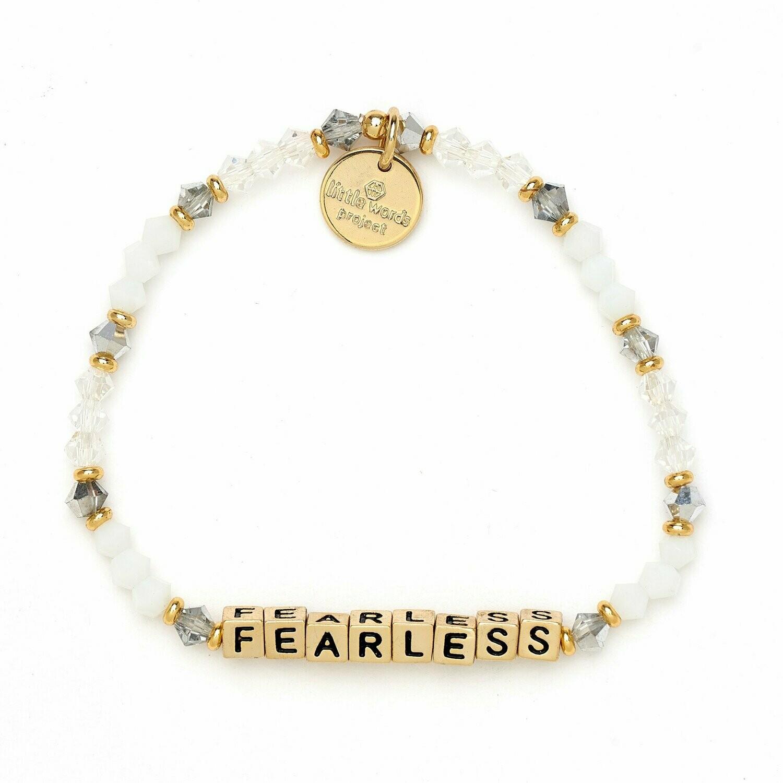 Little Words Project Gold FEARLESS Bracelet