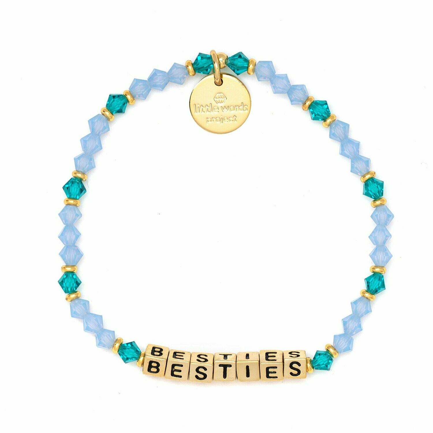 Little Words Project Gold BESTIES Bracelet