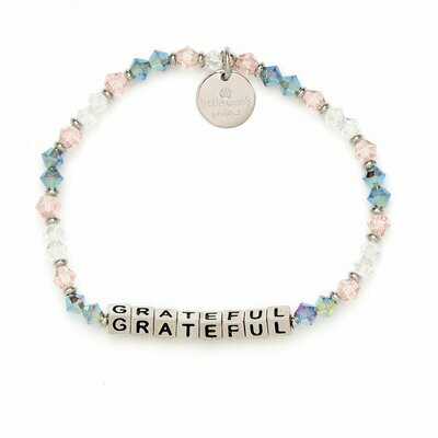 Little Words Project Silver GRATEFUL Bracelet