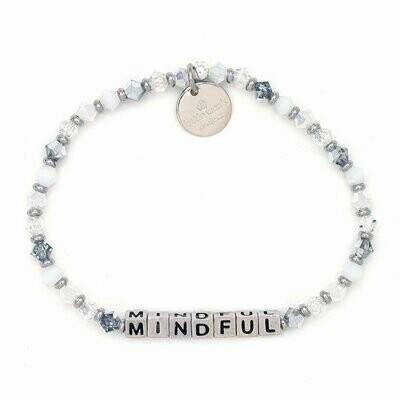 Little Words Project Silver MINDFUL Bracelet