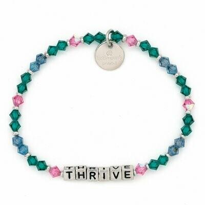 Little Words Project Silver THRIVE Bracelet