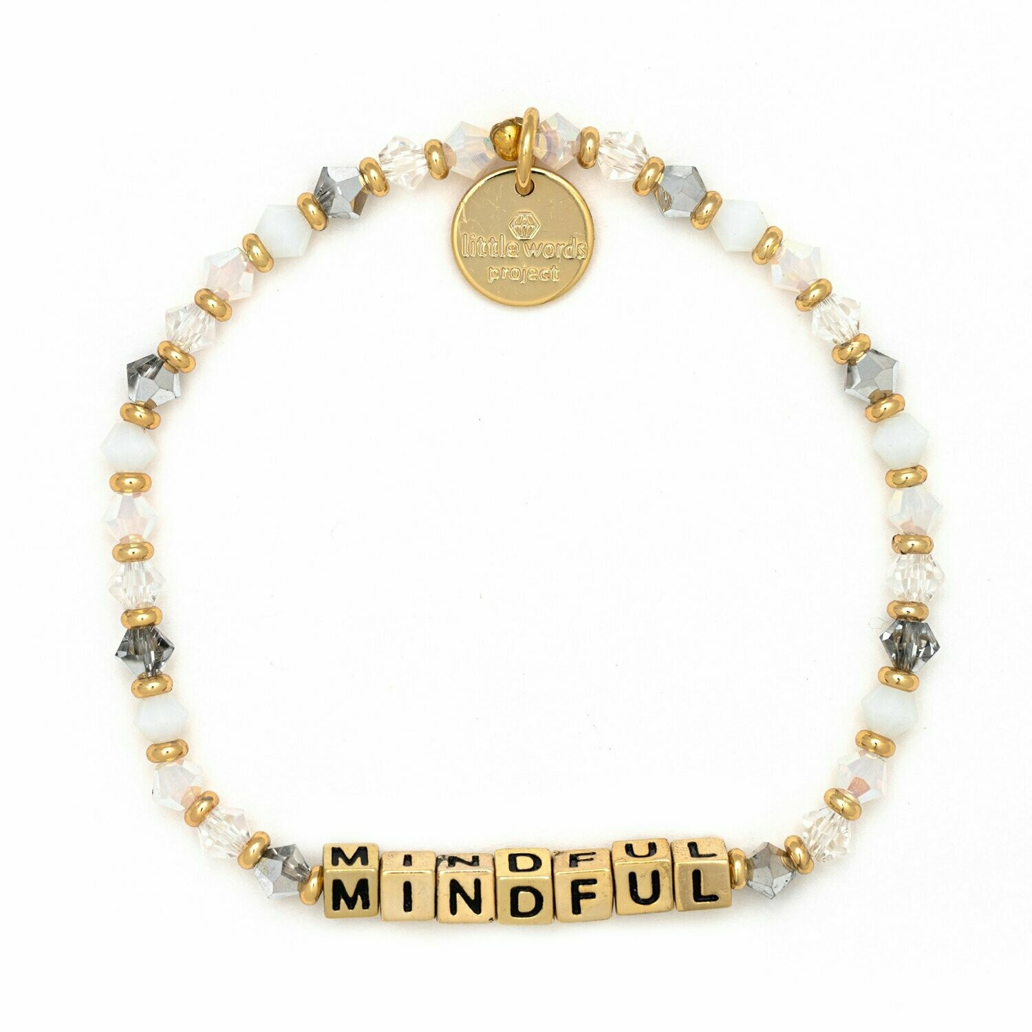 Little Words Project Gold MINDFUL Bracelet