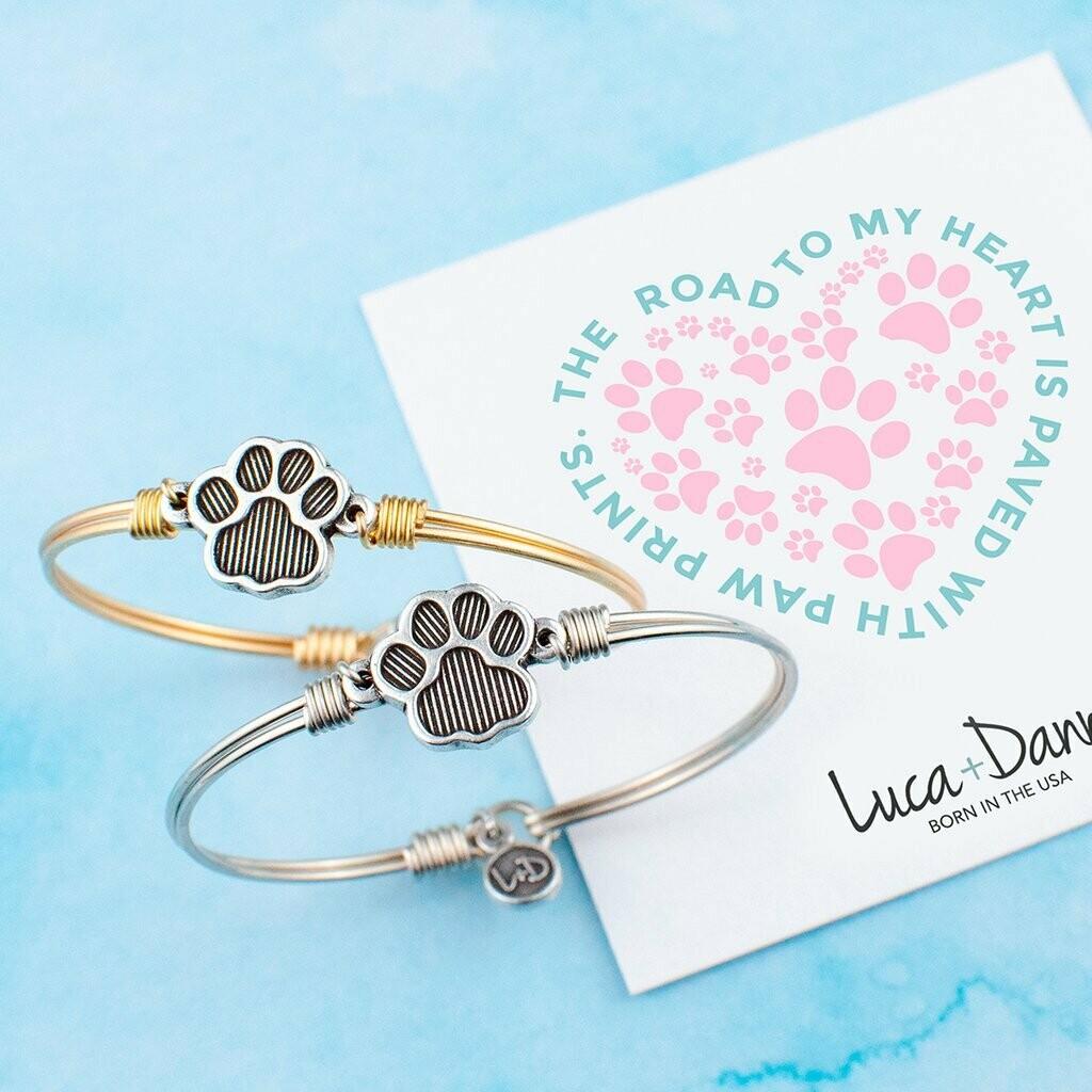 Luca + Danni Paw Print Bracelet