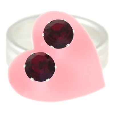 JoJo Loves You Ruby Mini Blings