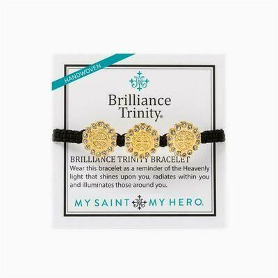 MSMH Brilliance Trinity Bracelet (Gold/Black)