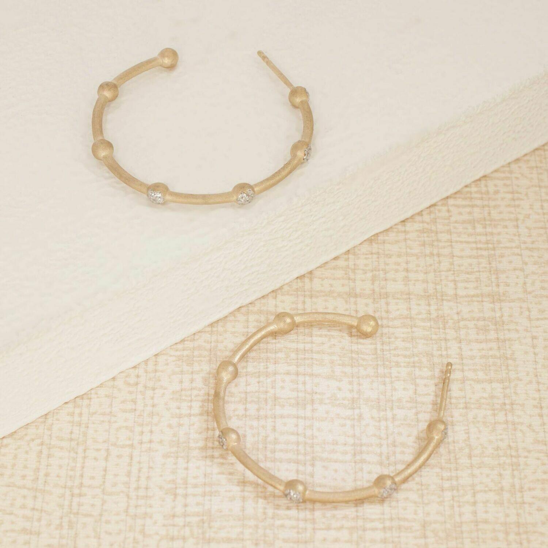Ella Stein Evelyn Small Earrings (Gold)
