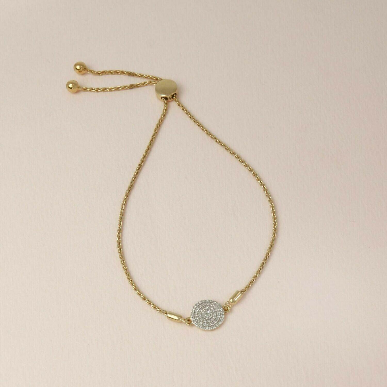 Ella Stein Right Round Bracelet (Gold)