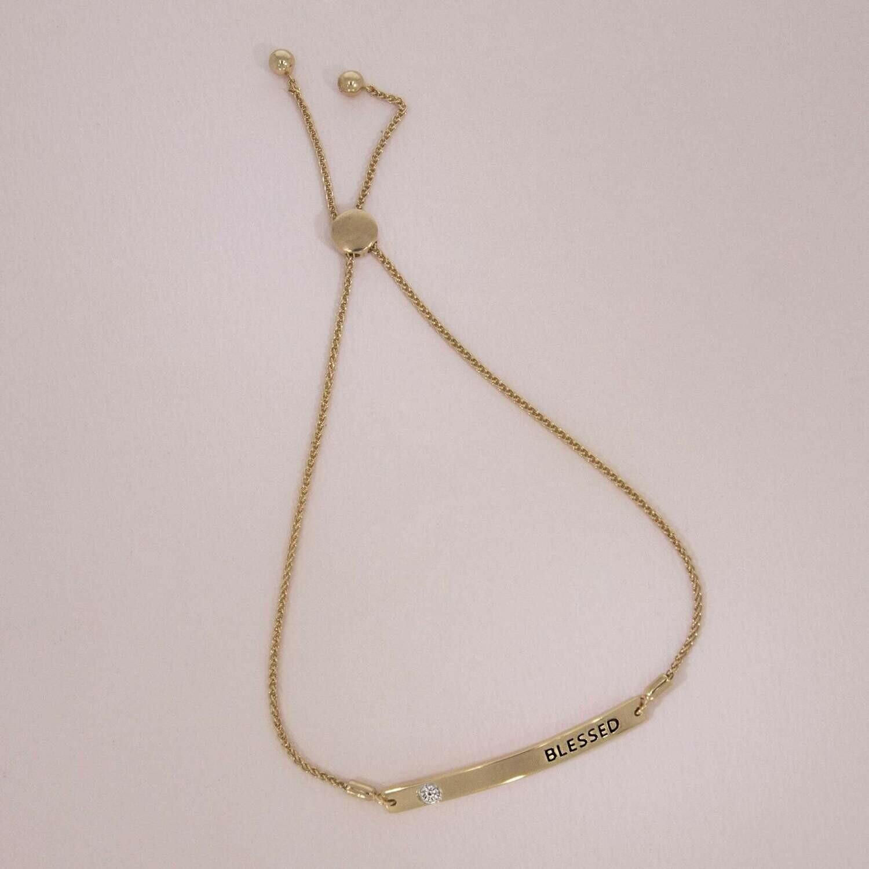 Ella Stein I Am Blessed Bracelet (Gold)
