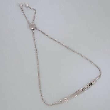 Ella Stein I Am Blessed Bracelet (Silver)