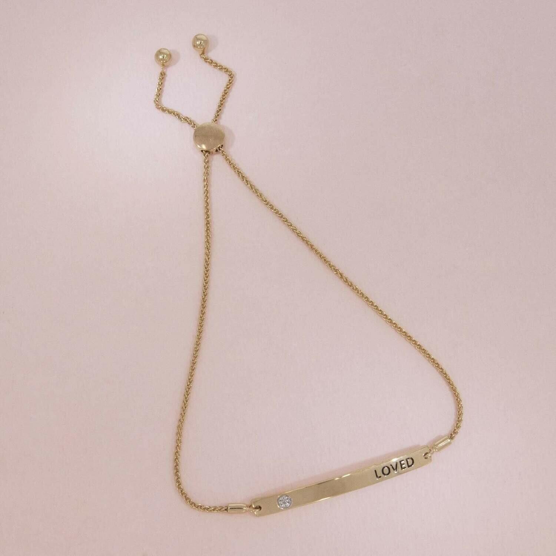 Ella Stein I Am Loved Bracelet (Gold)