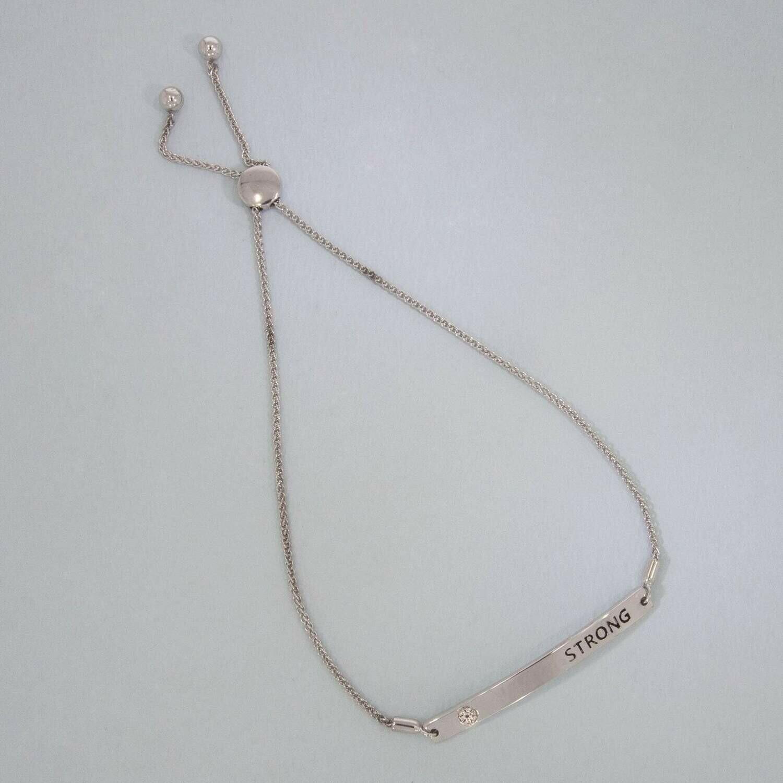 Ella Stein I Am Strong Bracelet (Silver)