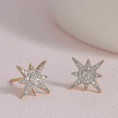 Ella Stein Stargazer Earrings (Gold)