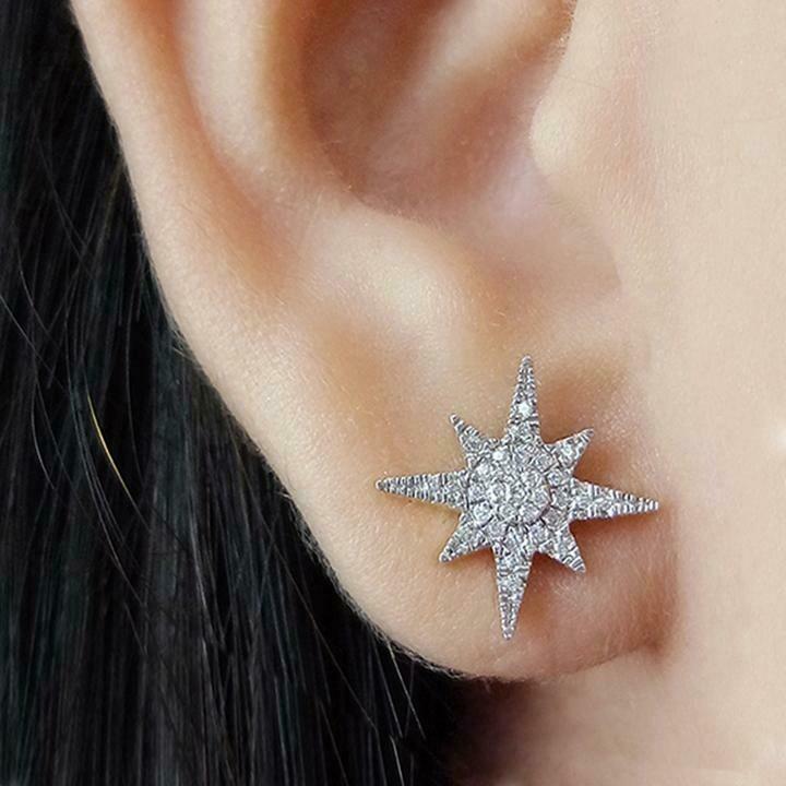 Ella Stein Stargazer Earrings (Silver)