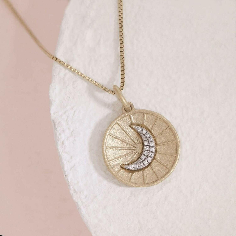 Ella Stein Moonbeams and Dreams Necklace (Gold)