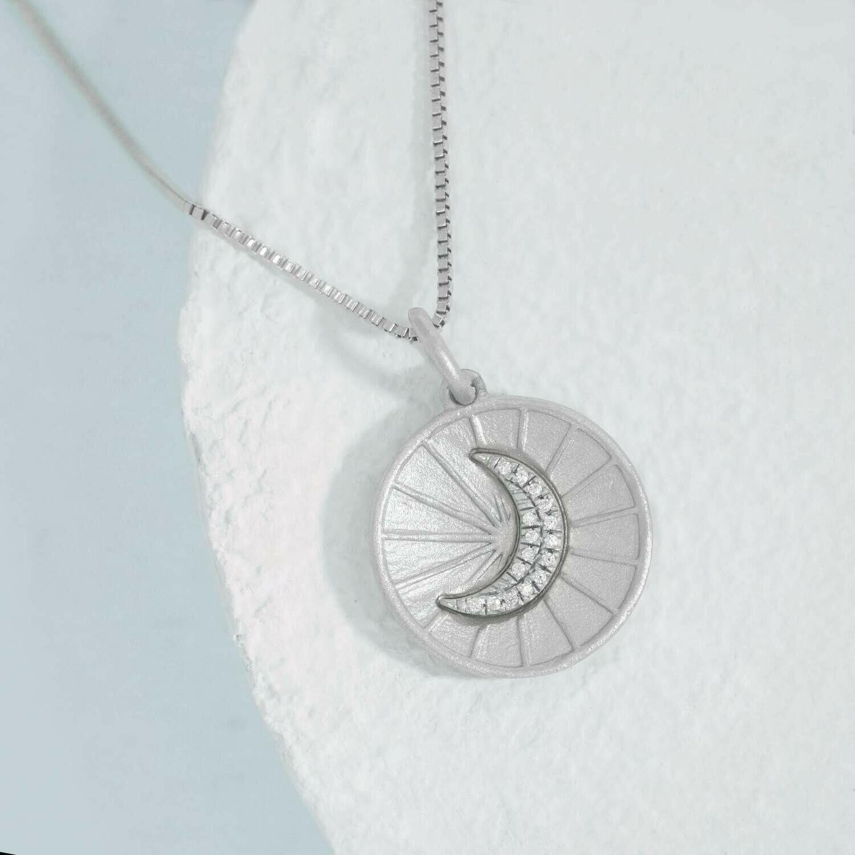 Ella Stein Moonbeams & Dreams Necklace (Silver)