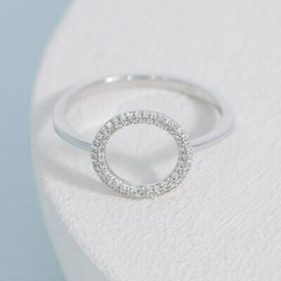 Ella Stein You Are My Everything Ring (Silver)