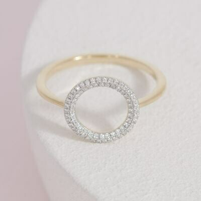 Ella Stein You Are My Everything Ring (Gold)